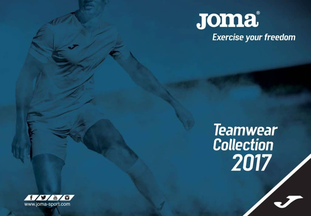 Katalog stroje piłkarskie Joma