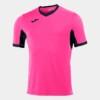 Koszulka piłkarska JOMA Champion IV różowo-czarna 1100683.031