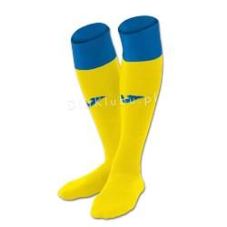Getry piłkarskie JOMA Calcio 24 żółto-niebieskie