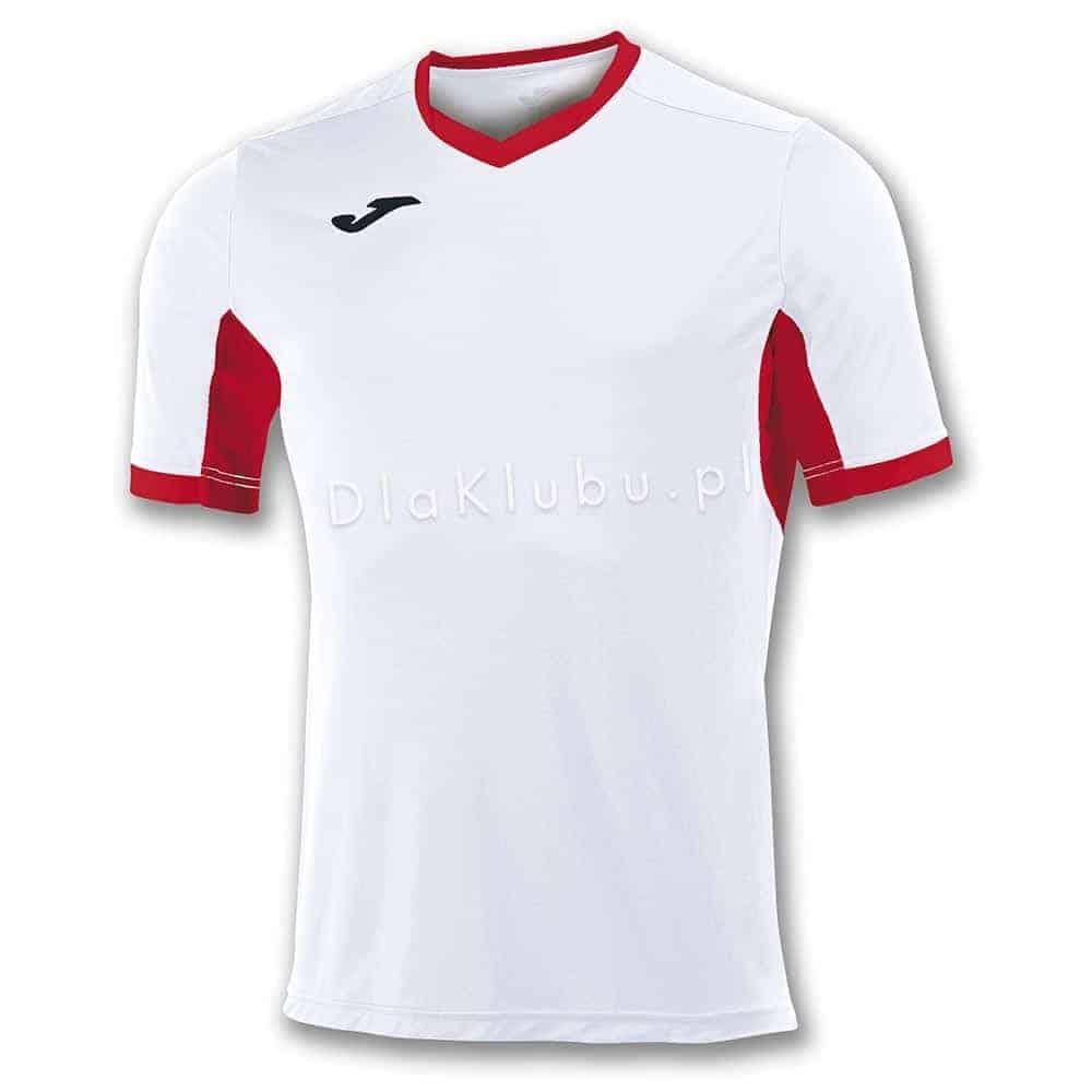 9dd166f42 Koszulka piłkarska JOMA Champion IV biało-czerwona - Stroje Joma ...