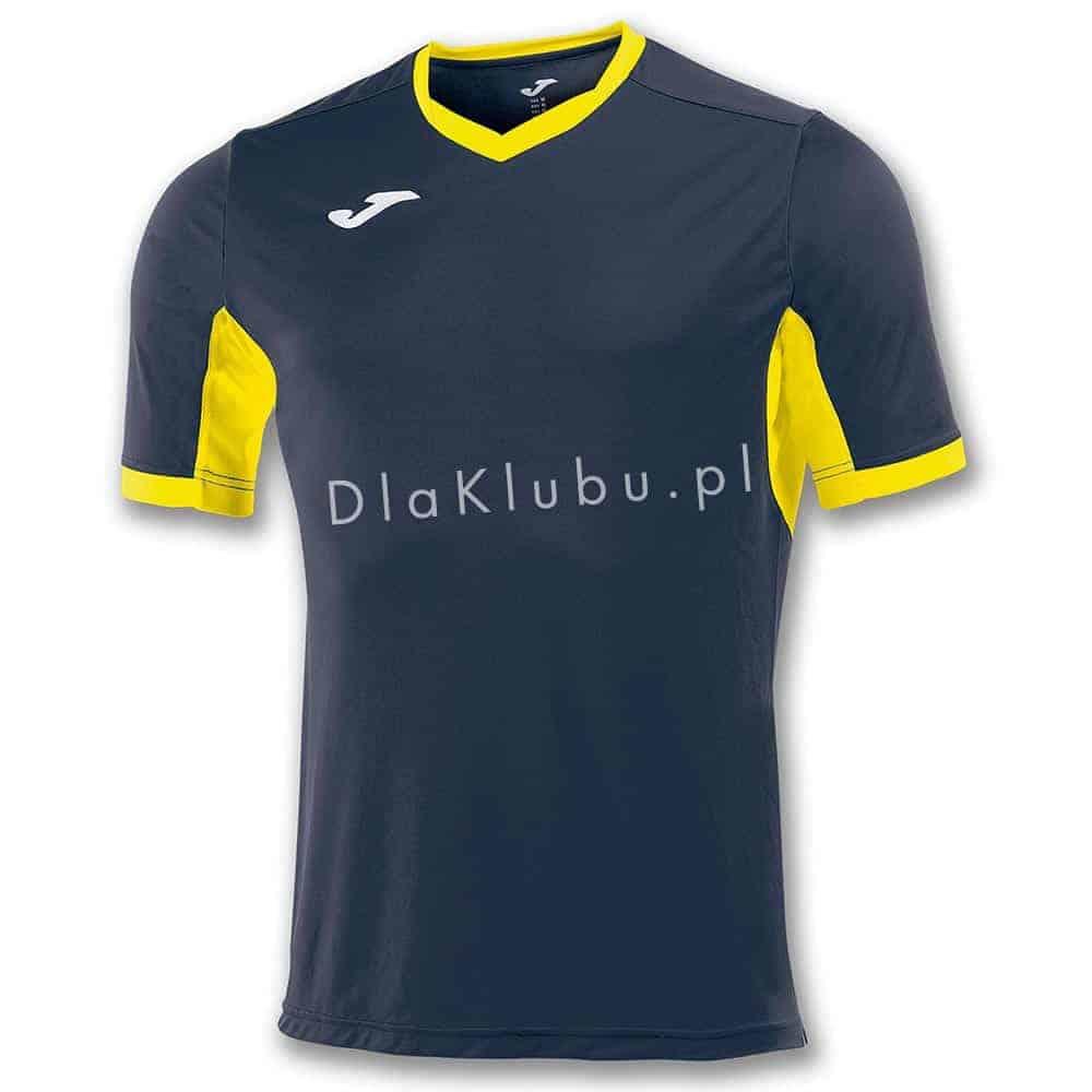 85e976171 Koszulka piłkarska JOMA Champion IV granatowo-żółta - Stroje Joma ...