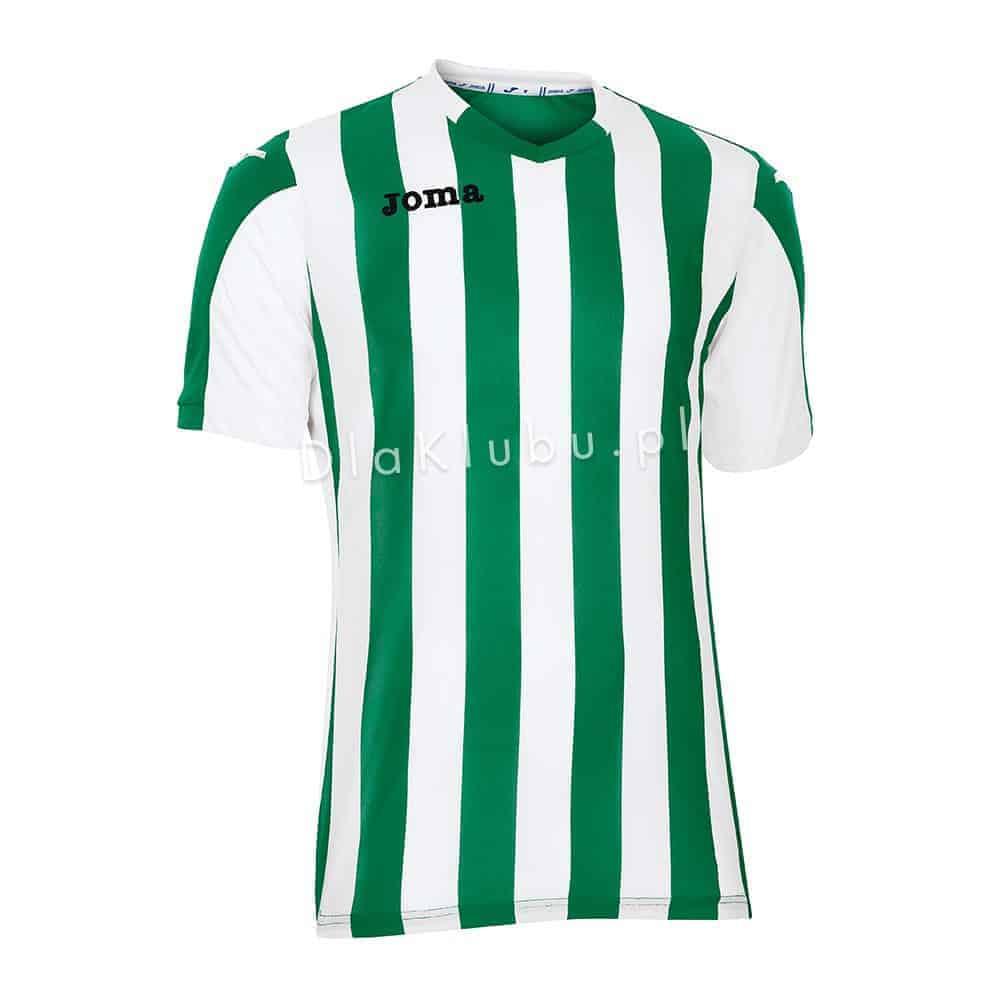 49c6e7690 Koszulka piłkarska JOMA Copa zielono-biała - Stroje Joma - stroje ...