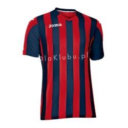 Koszulka piłkarska JOMA Copa granatowo-czerwona