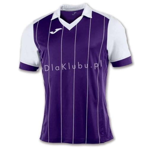 Koszulka piłkarska JOMA Grada fioletowo-biała