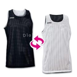 Koszulki koszykarskie JOMA Aro czarna i biała
