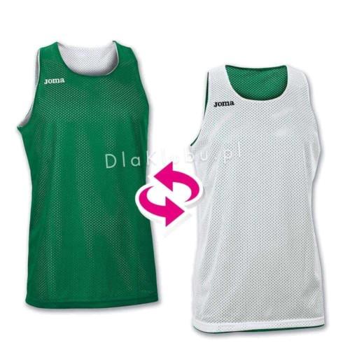 Koszulki koszykarskie JOMA Aro biała i zielona