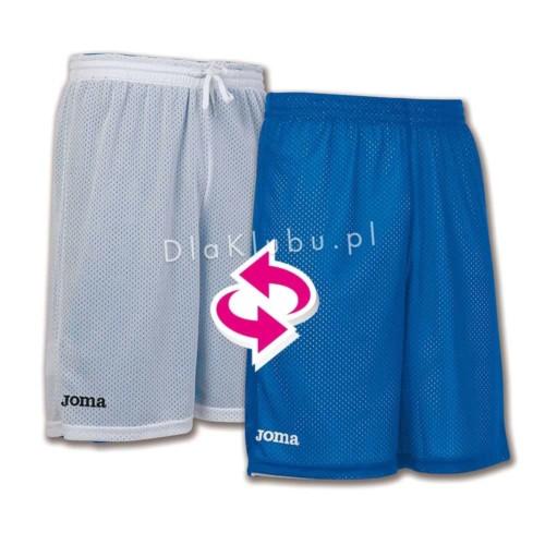 Spodenki koszykarskie JOMA Rookie niebieskie i białe