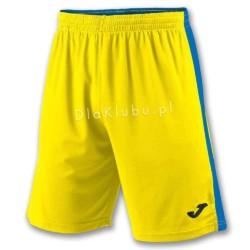 Spodenki JOMA TOKIO II Short żółto-niebieskie
