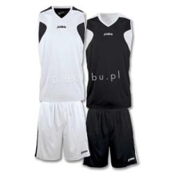 Stroje koszykarskie JOMA Reversible biało czarny i czarno biały
