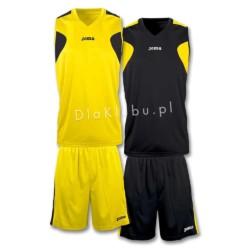 Stroje koszykarskie JOMA Reversible żółto czarny i czarno żółty