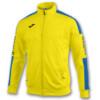 Kurtka treningowa JOMA Champion IV żółto-niebieska 100687.907