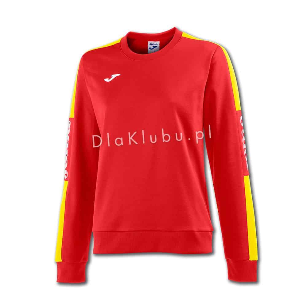 gorący produkt świeże style informacje o wersji na Bluza dresowa Joma Champion IV damska czerwono-żółta