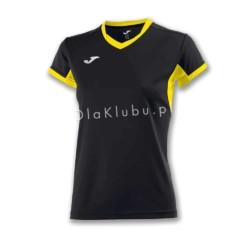 Koszulka sportowa damska JOMA Champion IV czarno żółta
