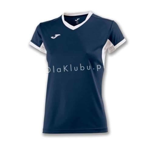 Koszulka sportowa damska JOMA Champion IV granatowo biała