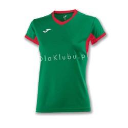 Koszulka sportowa damska JOMA Champion IV zielono czerwona