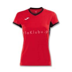 Koszulka sportowa damska JOMA Champion IV czerwono czarna