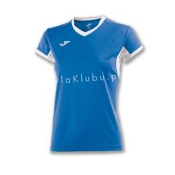 Koszulka sportowa damska JOMA Champion IV niebiesko biała