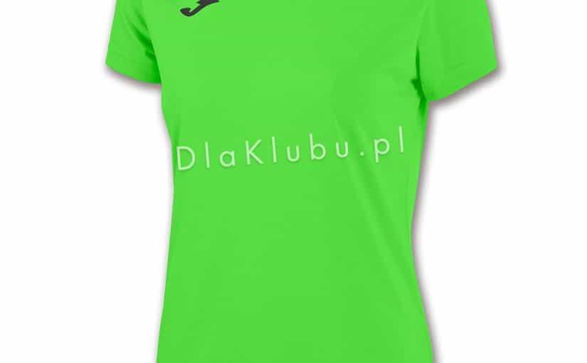 c66bf2fe25c7c2 Koszulka sportowa Joma Combi Woman jasno zielona - Stroje Joma - stroje  piłkarskie, siatkarskie, koszykarskie i inne - Dla Klubu