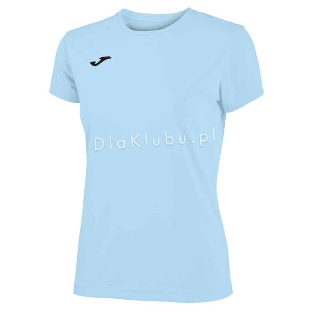 f24bdb32d1833b Koszulka sportowa Joma Combi Woman jasno niebieska - Stroje Joma ...