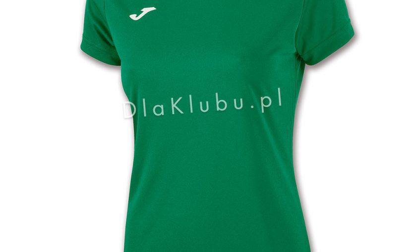49ba6c4d1b4aa2 Koszulka sportowa Joma Combi Woman zielona - Stroje Joma - stroje  piłkarskie, siatkarskie, koszykarskie i inne - Dla Klubu