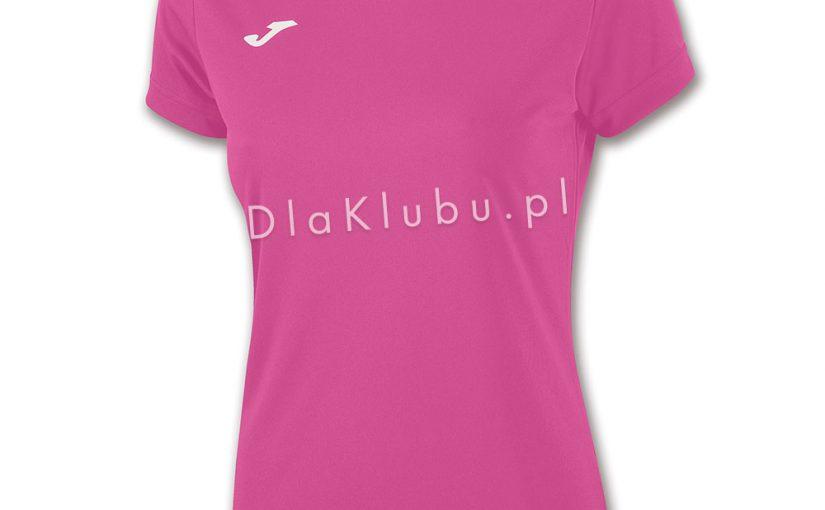 53d908a3a04a90 Koszulka sportowa Joma Combi Woman różowa - Stroje Joma - stroje  piłkarskie, siatkarskie, koszykarskie i inne - Dla Klubu