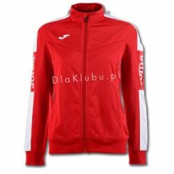 Bluza dresowa damska JOMA Champion IV czerwono biała