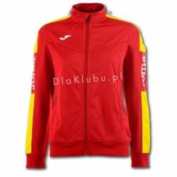 Bluza dresowa damska JOMA Champion IV czerwono żółta