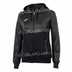 Bluza z kapturem damska JOMA Essential czarna