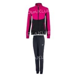 Dres treningowy damski JOMA Essential różowo-czarny