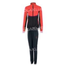 Dres treningowy damski JOMA Essential pomarańczowo-czarny