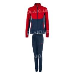 Dres treningowy damski JOMA Essential czerwono-czarny
