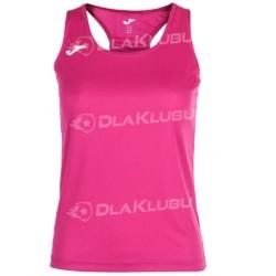 Koszulka damska bez rękawów JOMA Siena różowa