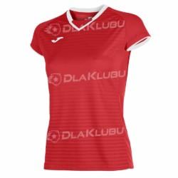 Koszulka sportowa damska JOMA Galaxy czerwona