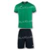 Strój piłkarski JOMA Academy zielono-czarny