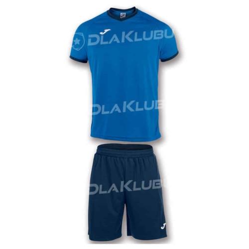 Strój piłkarski JOMA Academy niebiesko-granatowy