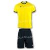 Strój piłkarski JOMA Academy żółto-czarny