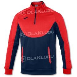 Bluza sportowa JOMA Essential granatowo-czerwona