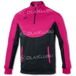 Bluza sportowa JOMA Essential czarno-różowa