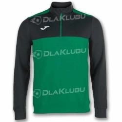 Bluza sportowa JOMA Winner zielono-czarna