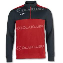 Bluza sportowa JOMA Winner czerwono-czarna
