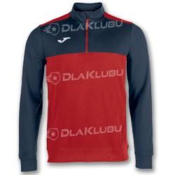 Bluza sportowa JOMA Winner czerwono-granatowa