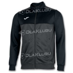 Bluza sportowa rozpinana JOMA Winner grafitowo-czarna