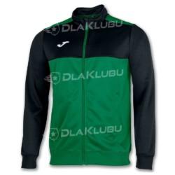 Bluza sportowa rozpinana JOMA Winner zielono-czarna
