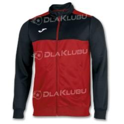 Bluza sportowa rozpinana JOMA Winner czerwono-czarna