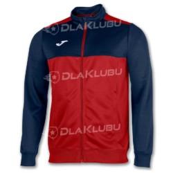 Bluza sportowa rozpinana JOMA Winner czerwono-granatowa