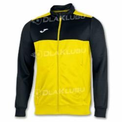 Bluza sportowa rozpinana JOMA Winner żółto-czarna