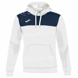 Bluza sportowa z kapturem JOMA Winner biała