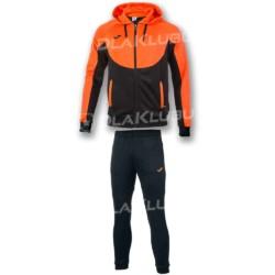 Dres sportowy JOMA Essential czarno-pomarańczowy