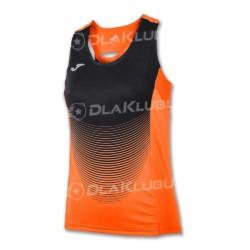 Koszulka siatkarska damska JOMA Elite IV pomarańczowo-czarna