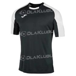 Koszulka sportowa JOMA Essential czarno-biała